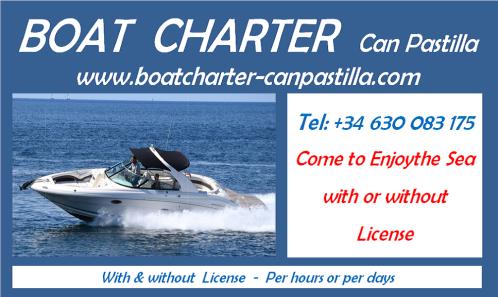 Alquiler de barcos en mallorca playas de palma arenal can pastilla hire boat charter bootsvermietüng bootsmieten bootsverleih